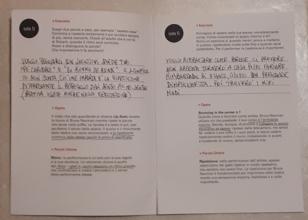 Guida per famiglie della mostra Contrapposto studies