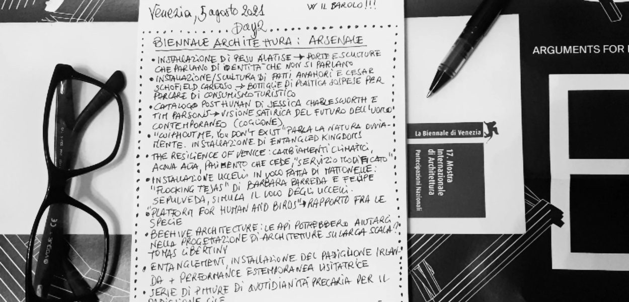 Biennale Architettura 2021 - Arsenale