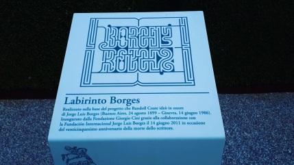 Labirinto di Borges sull'Isola di San Giorgio Maggiore