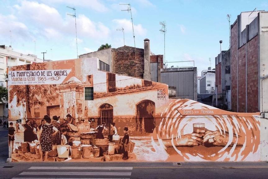 Roc Blackblock @ Vilanova i la Geltrú, Spain