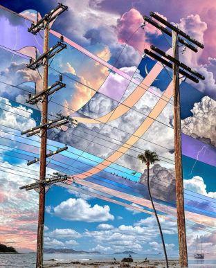 Party skies, 2021 by Alex Hyner