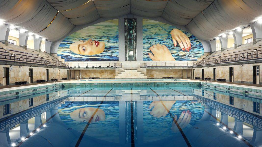 BE WATER, a project by TOILETPAPER in collaboration with Desigual, promoted by Comune di Milano and Milanosport, Fotografia di Alberto Zanetti