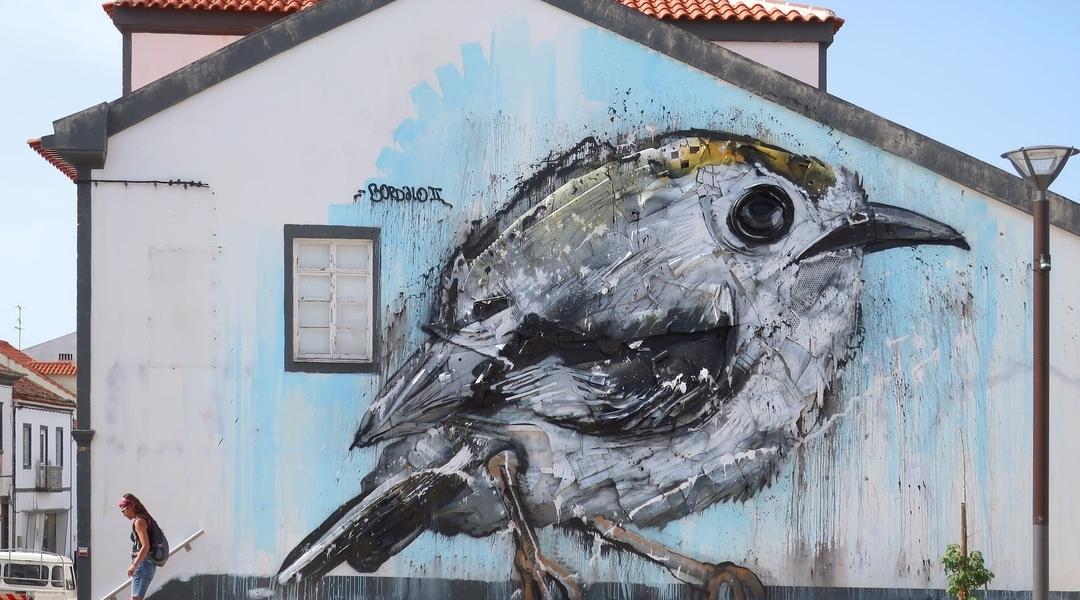 Bordalo II @ Vila do Porto, Azores, Portugal