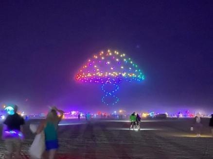 Drone Stories by Studio Drift @ Burning Man