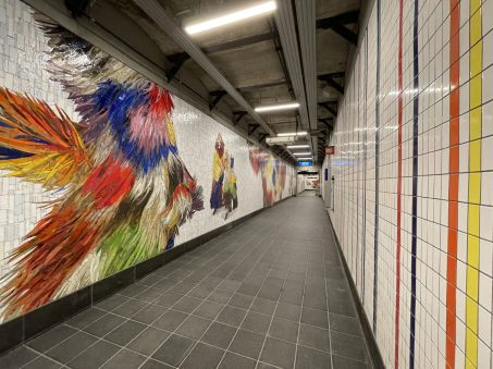 """""""Every One, Every One, Equal All"""" by Nick Cave @ New York. Photo by MTA Arts & Design/Cheryl Hageman"""