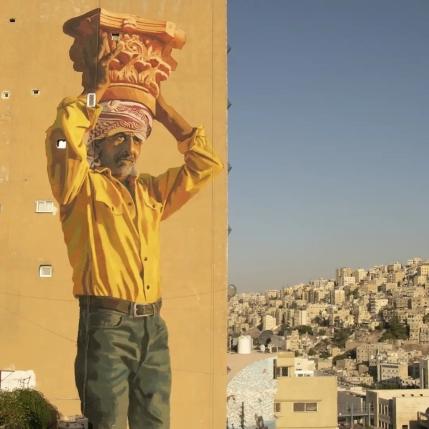 Jofre Oliveras + Dalal Mitwally @ Amman, Jordan