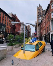 New York, new installation in Union Square by Madwell