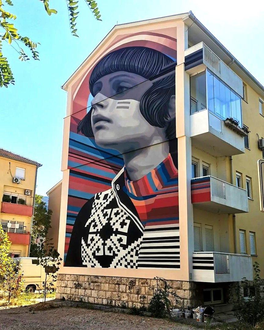 Medianeras @ Mostar, Bosnia and Herzegovina