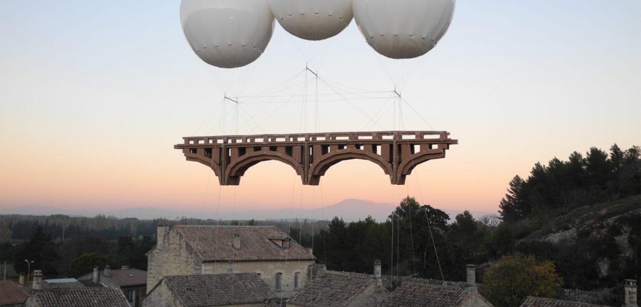 Olivier Grossetête. Architecture en Fête, Villeneuve lez Avignon, Francia (2015)