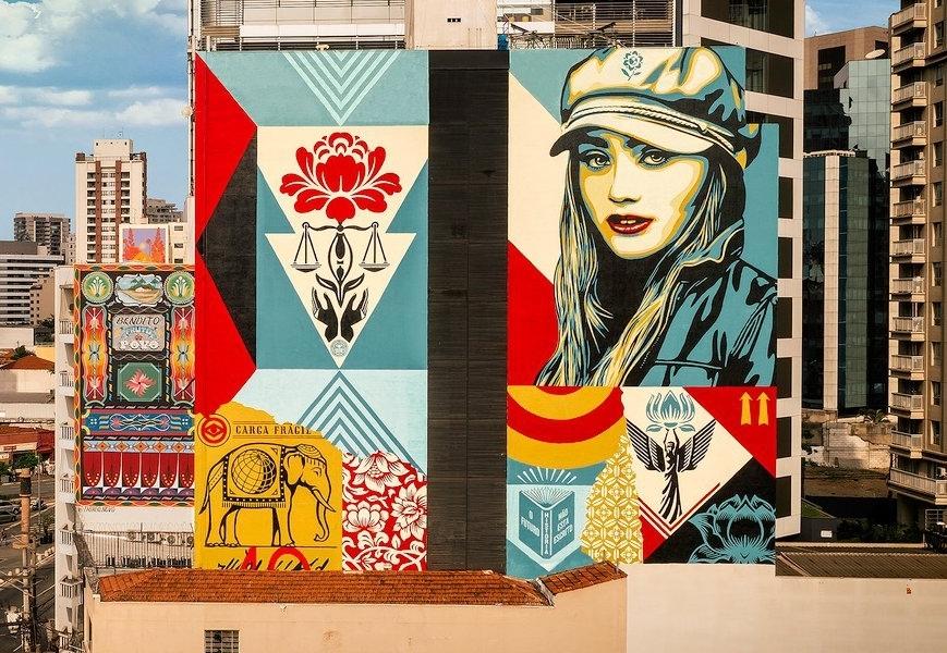 Obey Giant @ Sao Paulo, Brazil