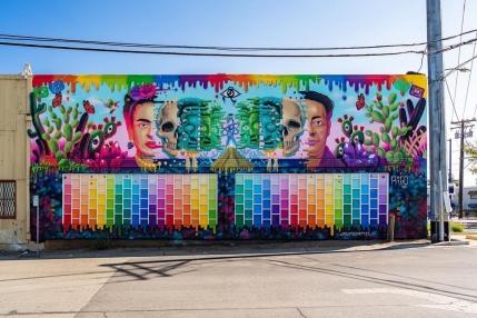 Rigo the Artist @ Sacramento, USA